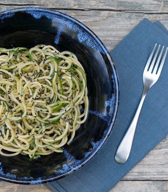 super easy sesame cucumber noodles  pf chang's copycat