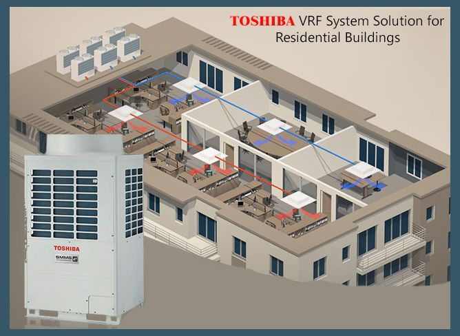 Make Your Home Cooler And Comfortable With Toshiba Vrf Hvac