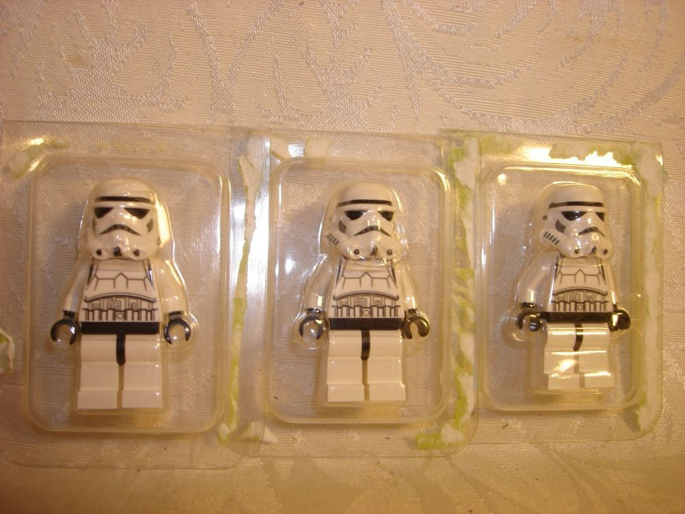 LEGO Star Wars Mandalorian Trooper minifigure lot of 5 Jetpack Clone minifig
