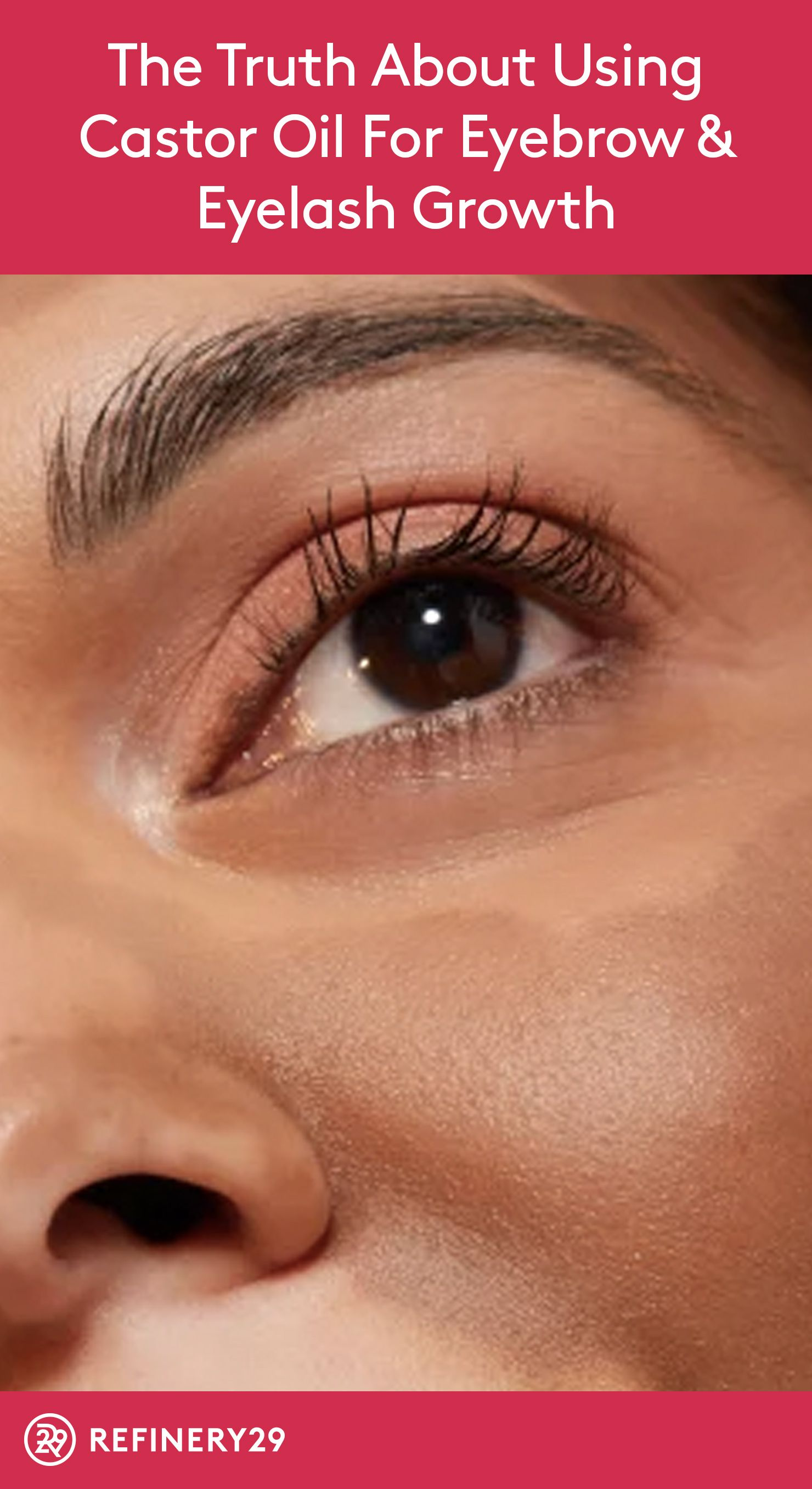 Does Castor Oil Really Help Your Eyebrows & Eyelashes Grow ...