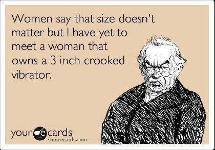 Size doesn't matter?