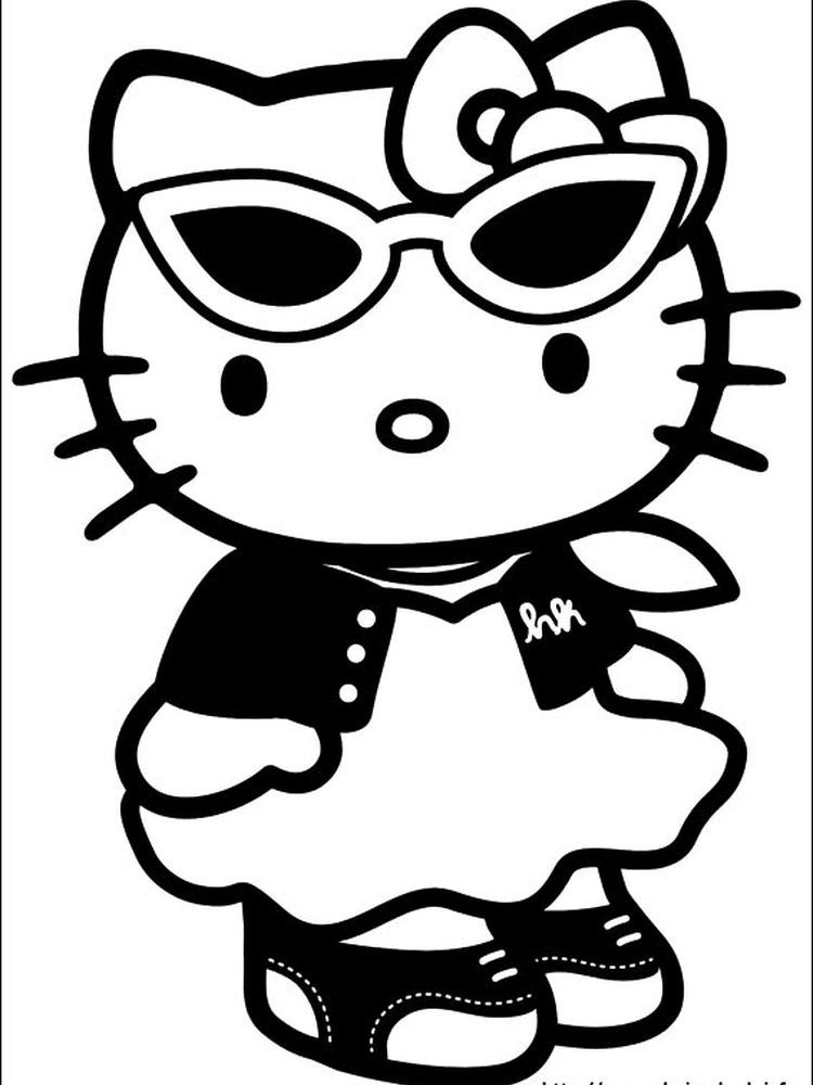Hello Kitty House Coloring Pages When We First Heard Hello Kitty The First One That Occurred Hello Kitty Colouring Pages Kitty Coloring Hello Kitty Coloring