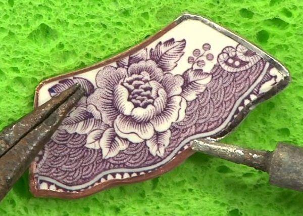Photo of How to Make Broken-China Jewelry via Low-Temp Soldering | Interweave
