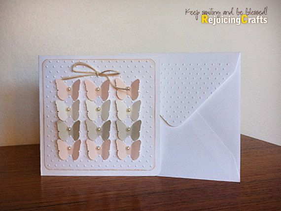 Rejoicingcrafts Handmade Baby Girl Card New Baby Baby Shower