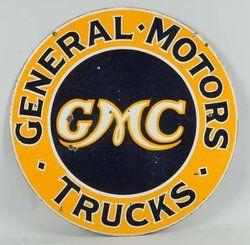 GMC Trucks General Motors Authorized Dealer Service Parts Decor Metal Tin Sign