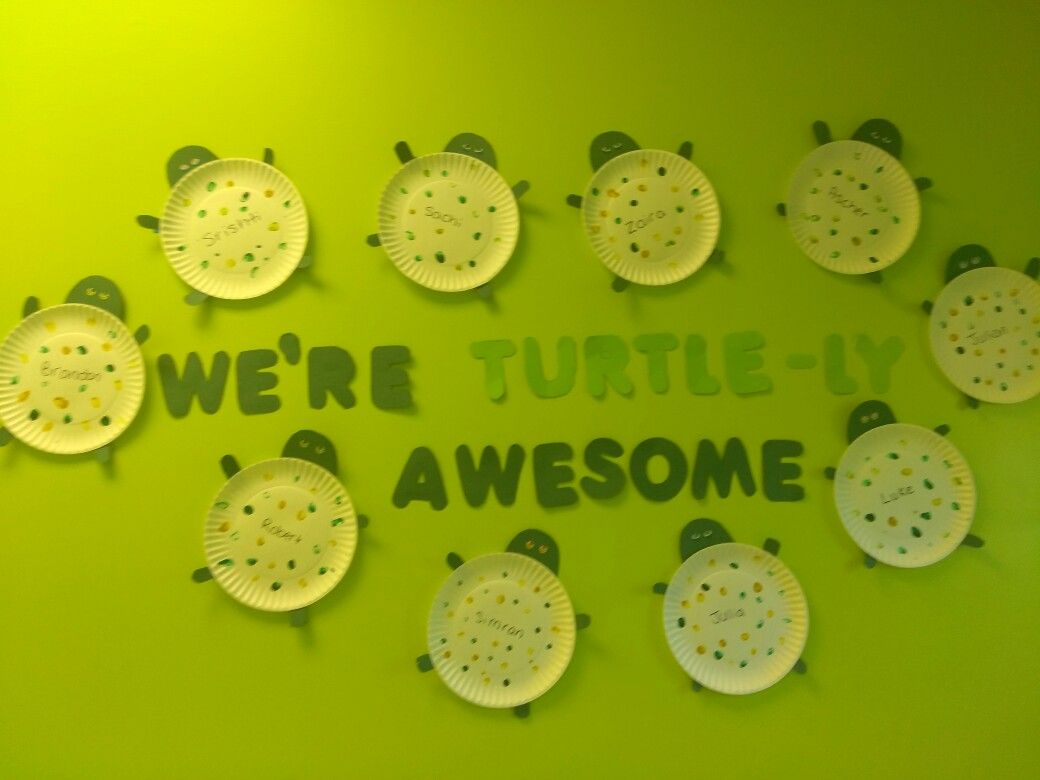 Preschoolers Are Turtle Ly Awesome