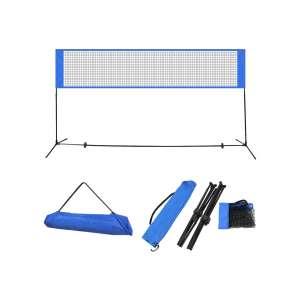 Badminton Net Set Volleyball Net In 2020 Portable Volleyball Net Volleyball Net Volleyball