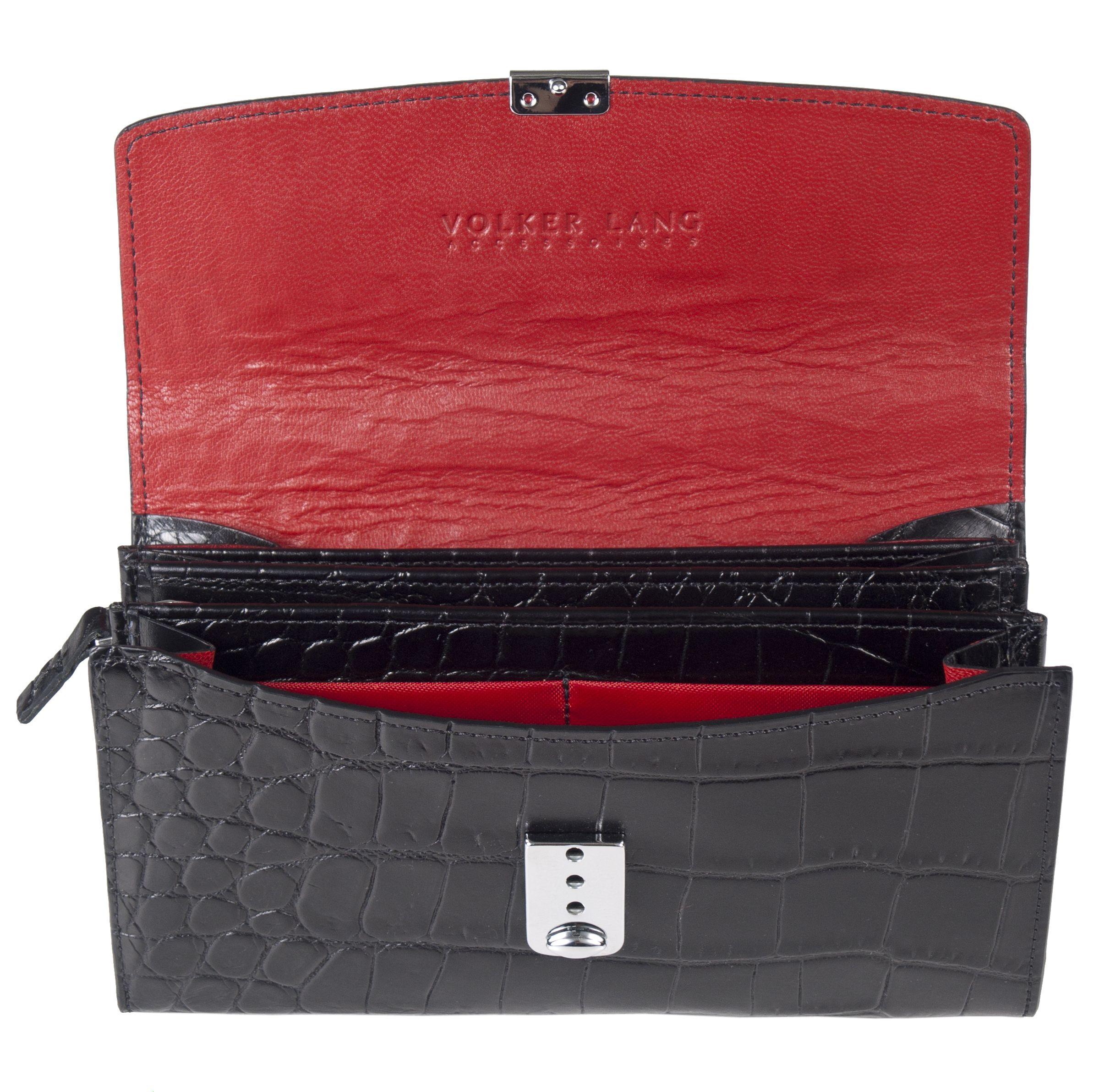 Open wallet PK1 RUBEL, croco black