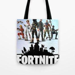 fortnite game tote bag background logo artwork kid gift design - fortnite tote bag