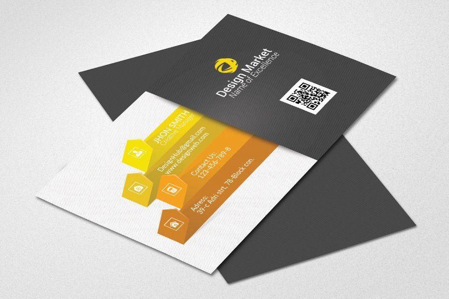 Stylish Black Business Card Template Business Cards Creative Templates Business Card Design Download Business Card