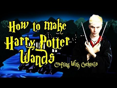 DIY Harry Potter Robes PART 1 - Crafting With Cocktails (3.12) - YouTube