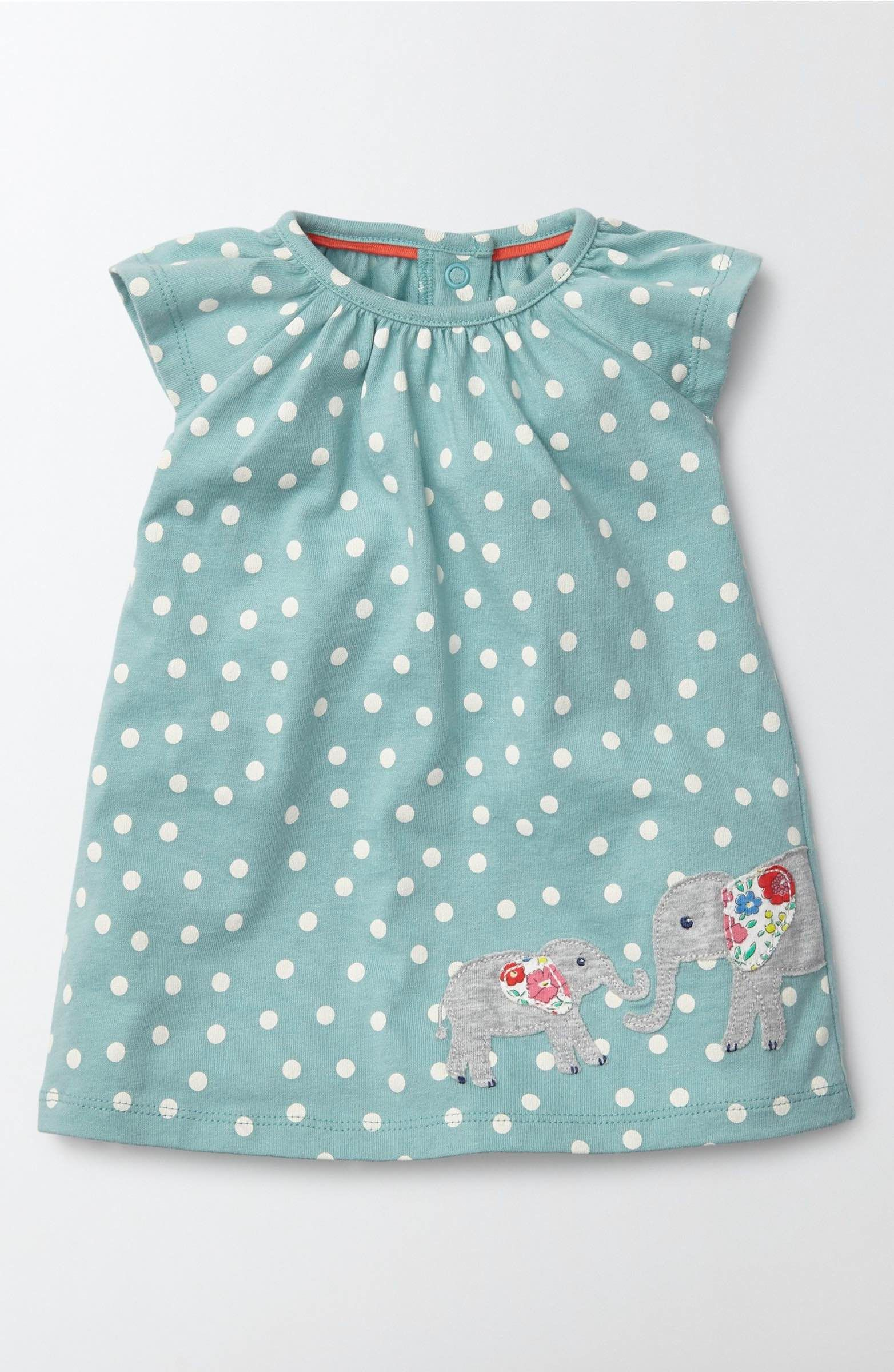 4a1422ba1 Main Image - Mini Boden Summer Appliqué Dress (Baby Girls   Toddler ...