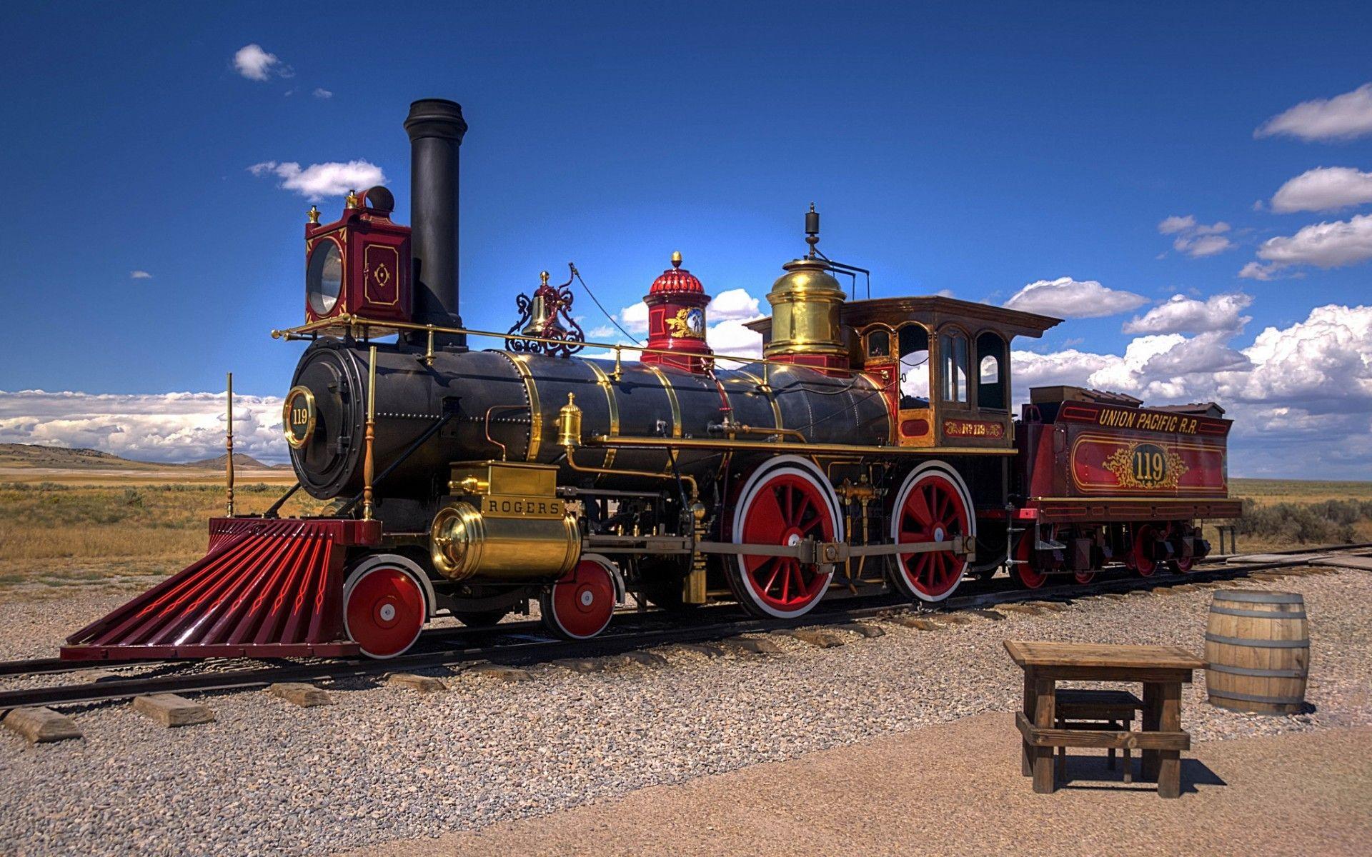 1920x1200 trains steam - photo #11