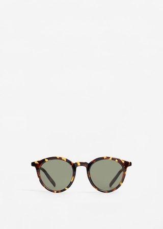 Okulary przeciwsłoneczne szylkret | MANGO MAN