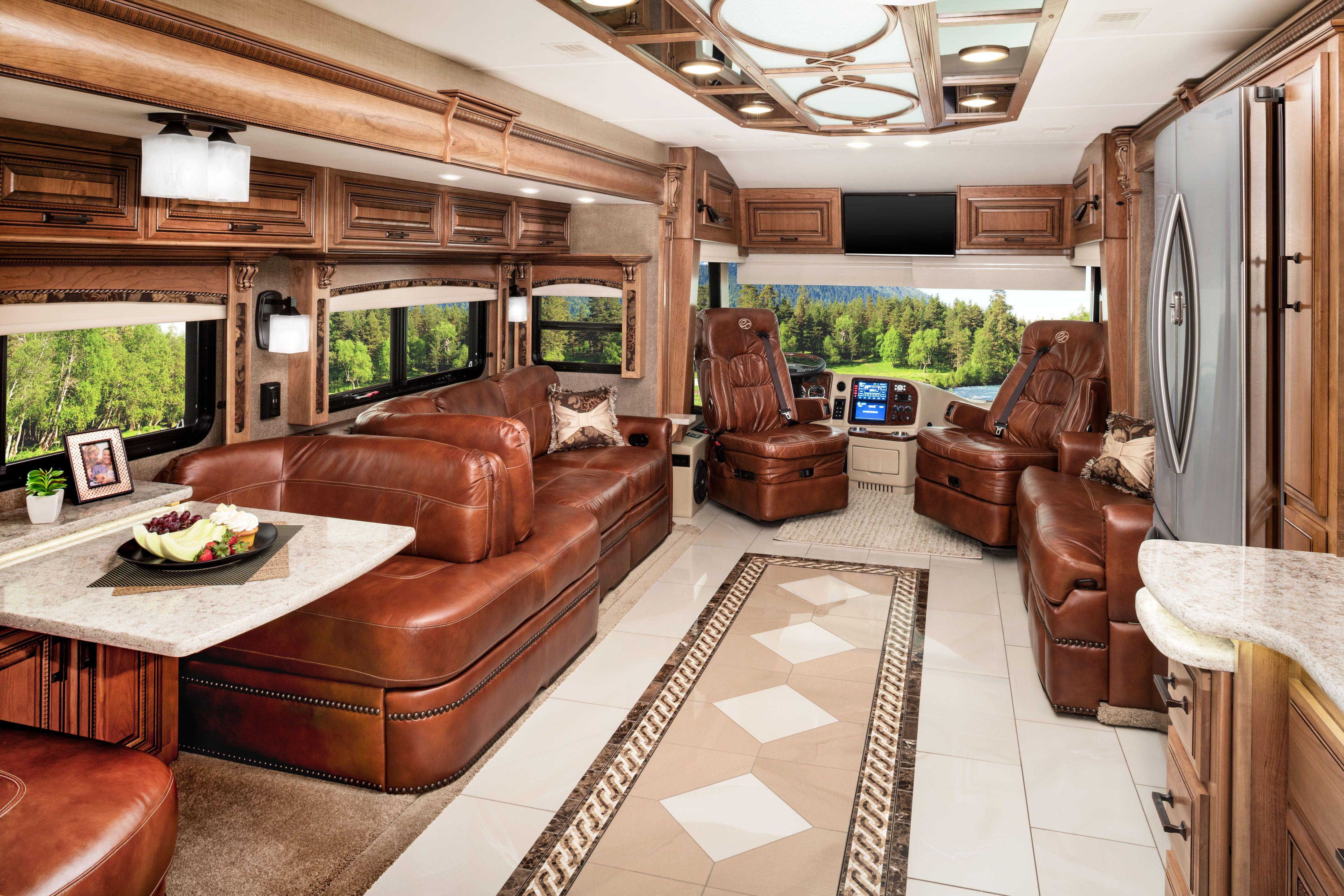 Luxury rv interior - My Dream Rv Cornerstone Luxury Rv From Entegra Coach