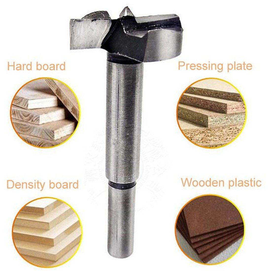 Forstner Wood Drill Bits Carpenter Flat Wing Drilling Reaming Hinge Woodworking Hole Saw Wooden Wood Cutter Core Wood Drill Bits Wood Cutter Woodworking Tools