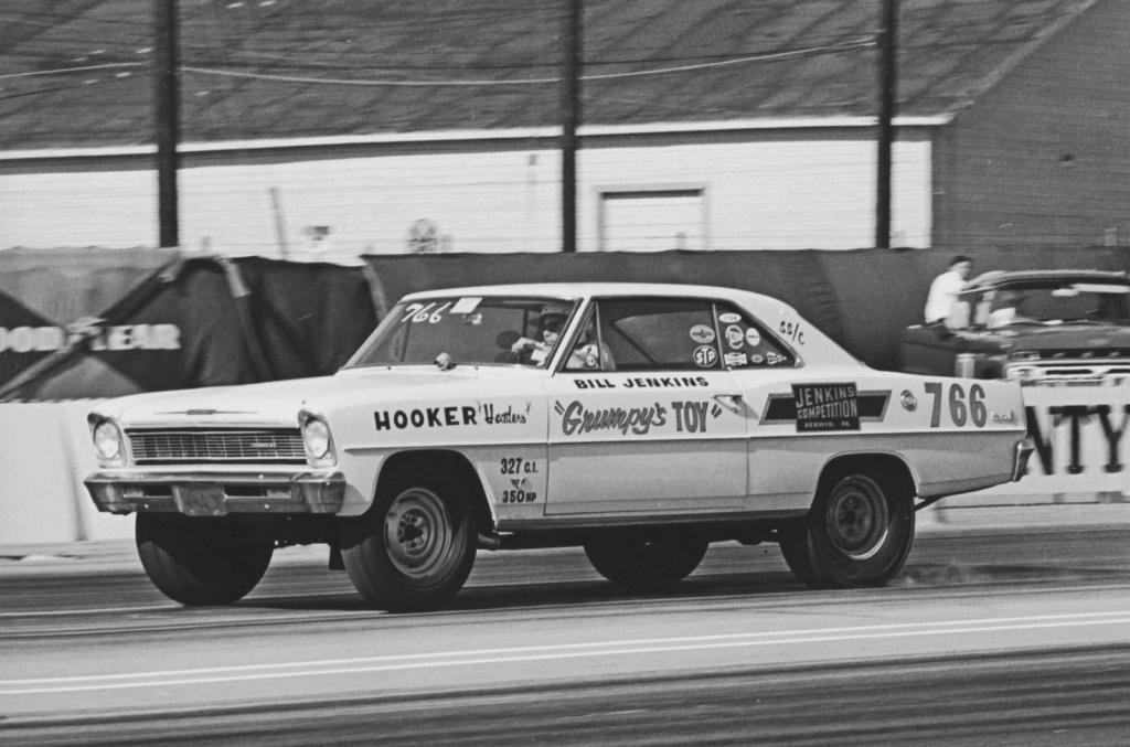 Vintage Drag Racing Super Stock Bill Jenkins Chevy Ii Nova Drag Cars Classic Cars Trucks Hot Rods Best Muscle Cars