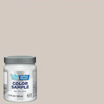 HGTV HOME by Sherwin-Williams Agreeable Gray Interior Paint Sample (Actual Net Contents: 8-fl oz) Lowes.com