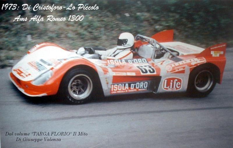 1973 Targa Ams A R 1300 Paul Chris Lopiccolo Sport Automobile
