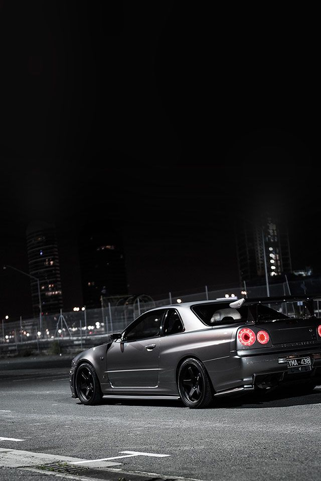 Freeios7 Nissan Skyline Gtr Parallax Hd Iphone Ipad Wallpaper