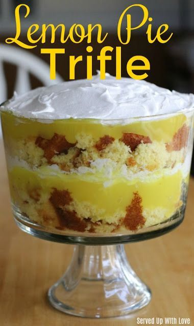 Lemon Pie Trifle