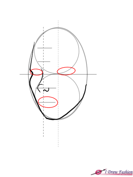 How To Draw 3 4 View Faces I Draw Fashion Face Drawing Reference Girl Face Drawing Face Drawing