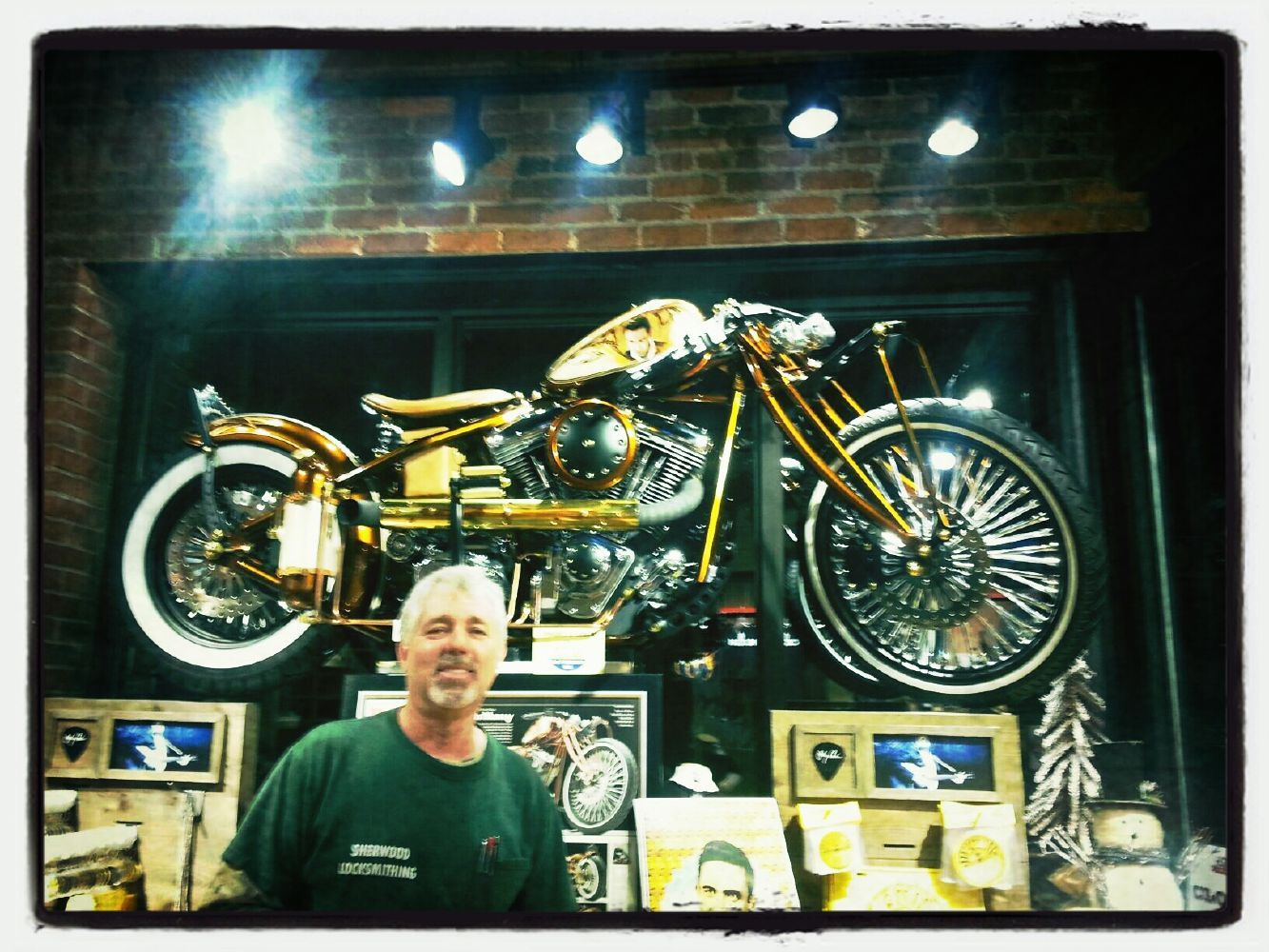 Harley Davidson Nashville >> Custom Harley Davidson At The Johnny Cash Museum Nashville