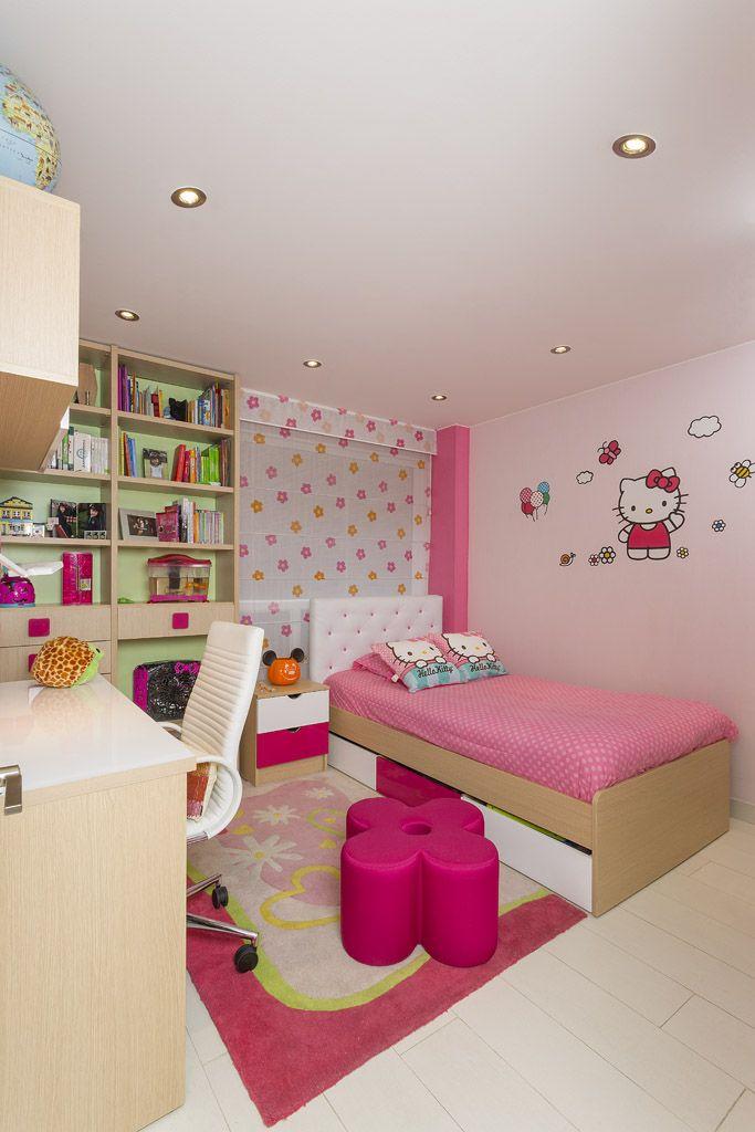 Cuarto cuartos kiki diseno 16 kids rooms pinterest - Habitaciones juveniles diseno ...