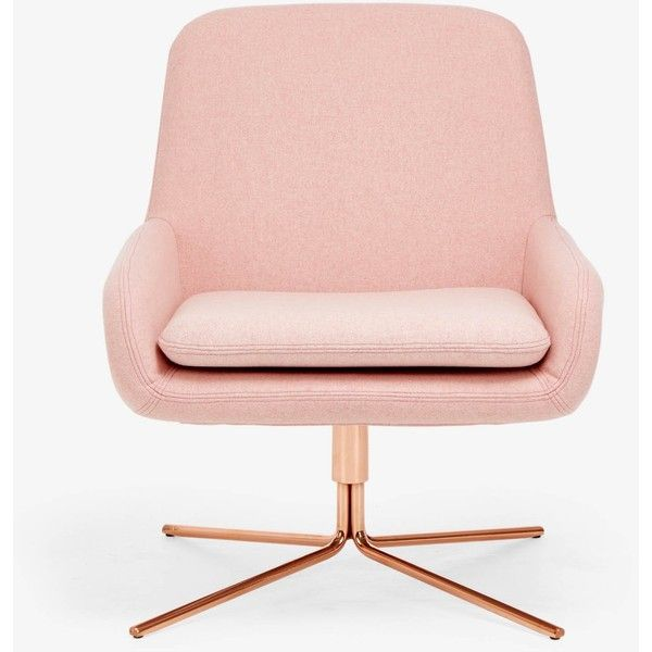 Softline Coco Pink Swivel Chair ($1,526) ❤ liked on Polyvore ...