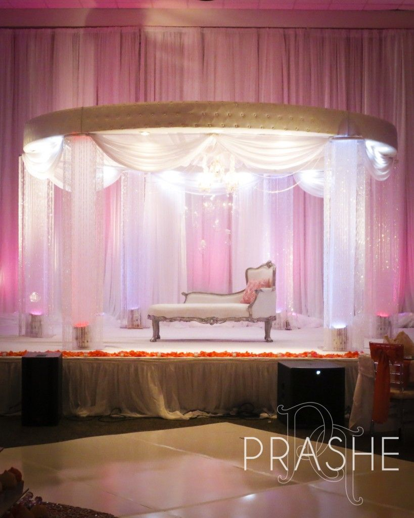 Wedding reception simple stage decoration  Gorgeous and elegant wedding stage  Wedding Decor  Pinterest