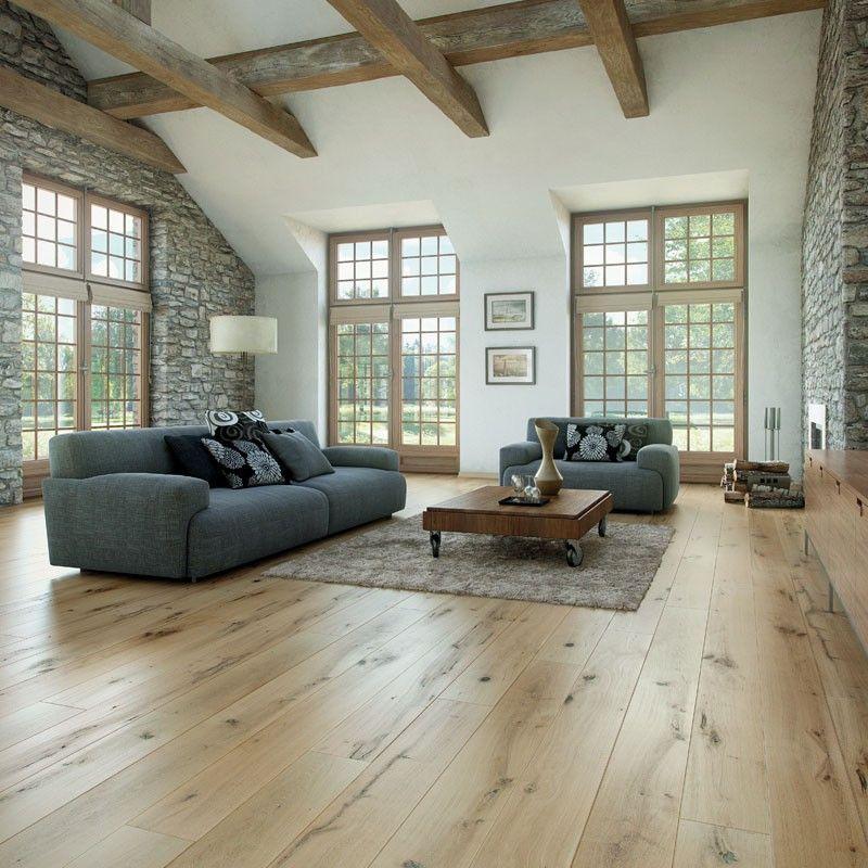 Vintage Engineered Ivory Oak Flooring