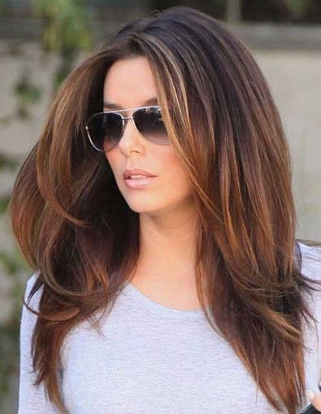 55 Schone Lange Haare Damen Mit Schichten Hair Frisuren Lang