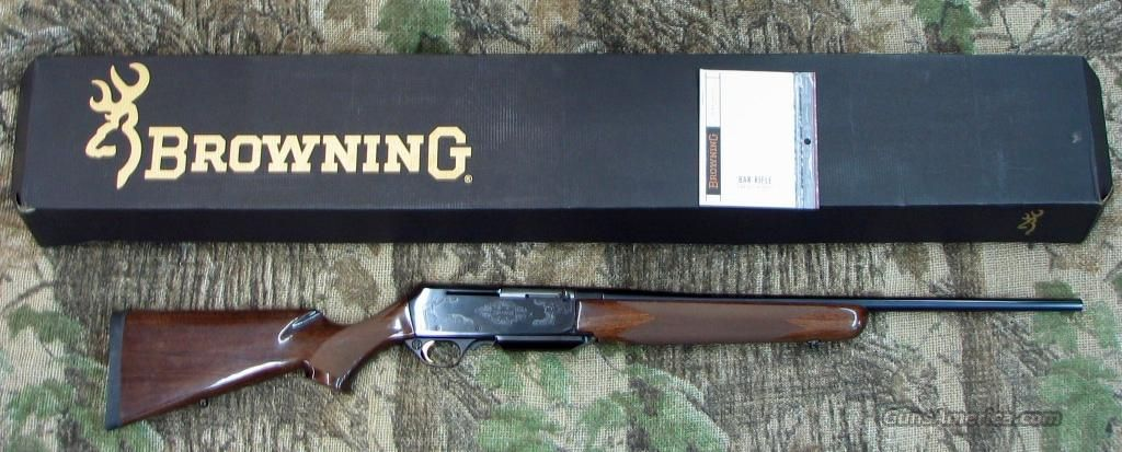 Up For Sale Is A NIB Browning BAR Safari II Semi Auto Rifle In WIN Cal This Features Polished Blue Finish 22 Inch By J And M Trading Post