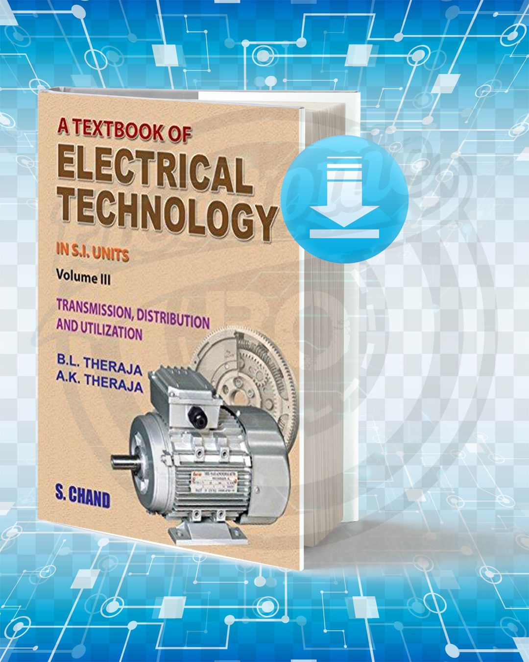 Download A Textbook Of Electrical Technology Electrical Engineering Books Textbook Electricity