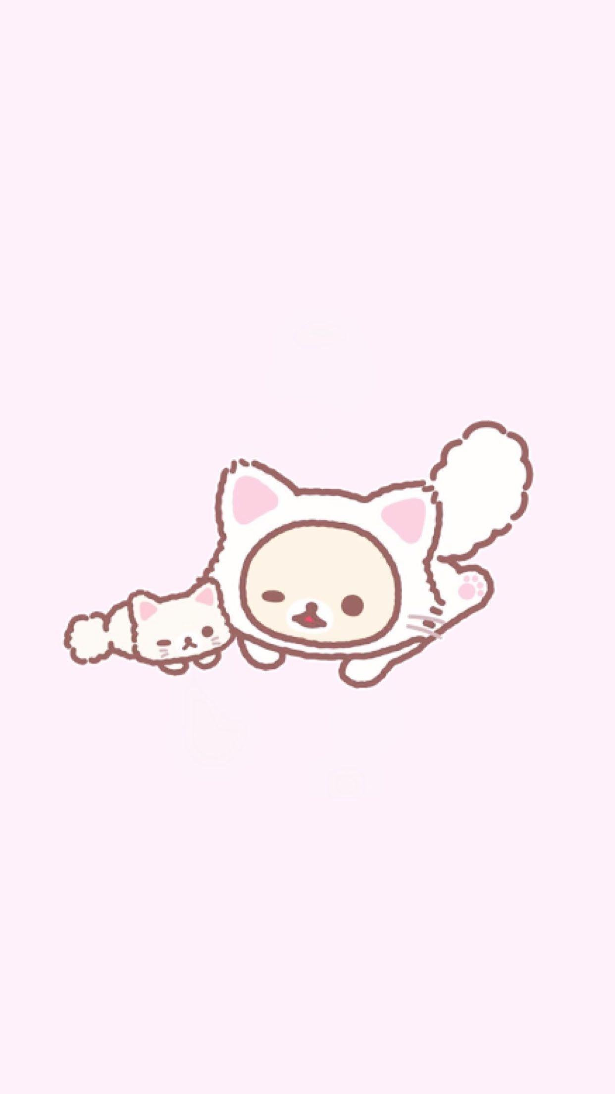 Korilakkuma Rilakkuma Wallpaper Wallpaper Iphone Cute Kawaii Wallpaper