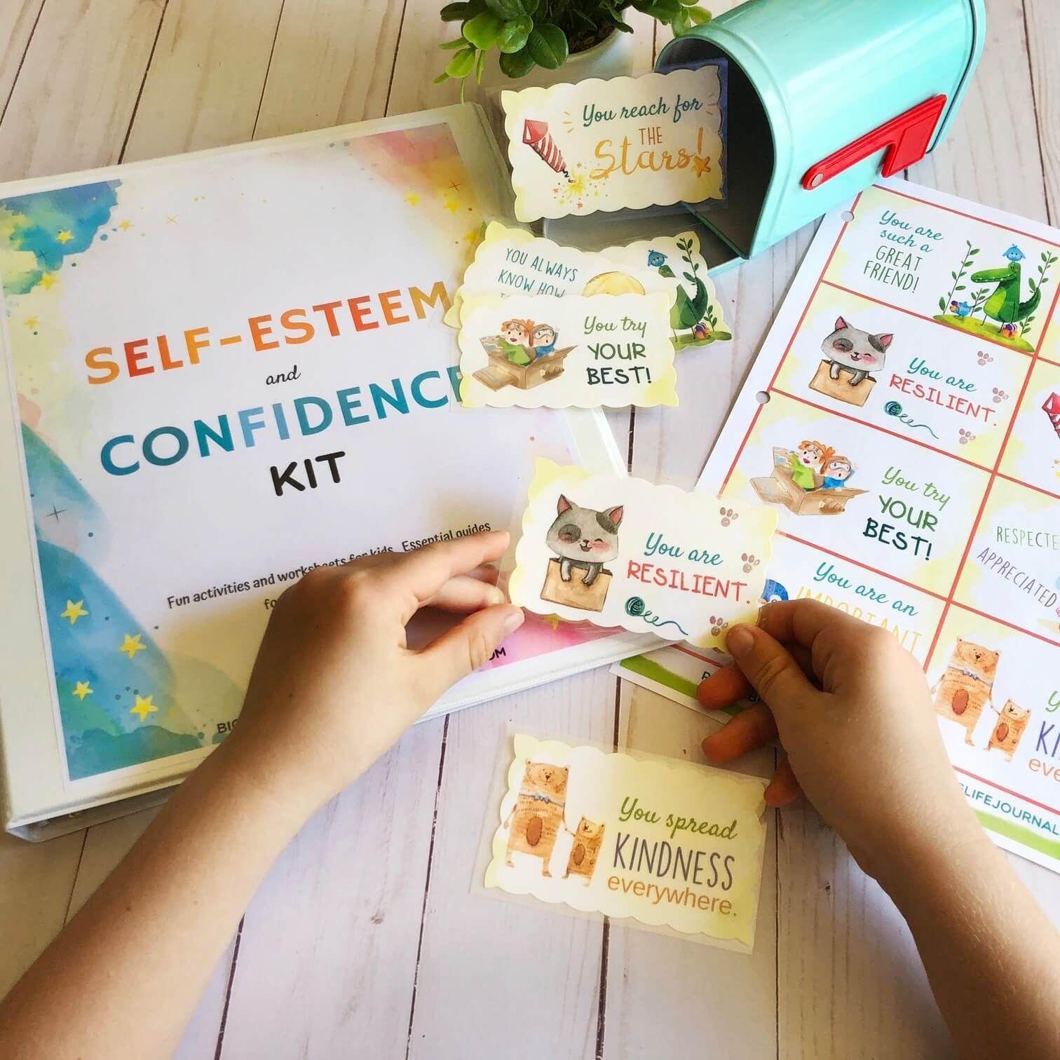 SelfEsteem & Confidence Kit PDF (ages 511) Self esteem