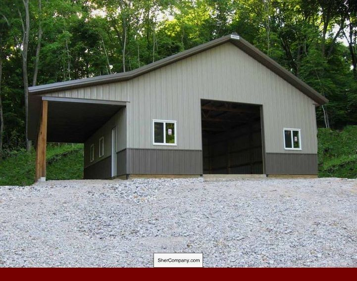 Metal Building Home Additions and photos of Metal Building