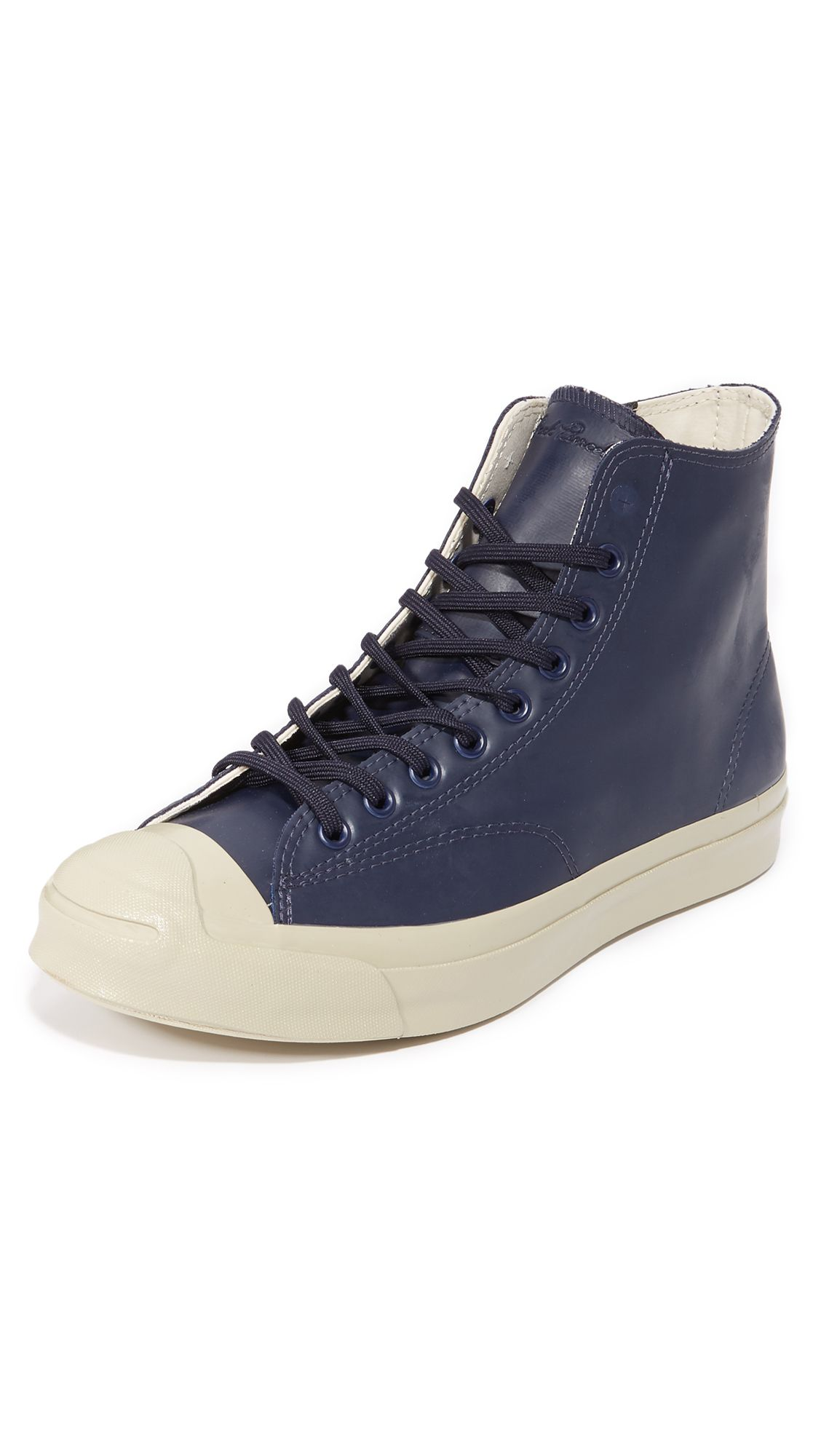 bb4a0449093c7d CONVERSE Jack Purcell Signature Rubber High Top Sneakers.  converse  shoes   sneakers