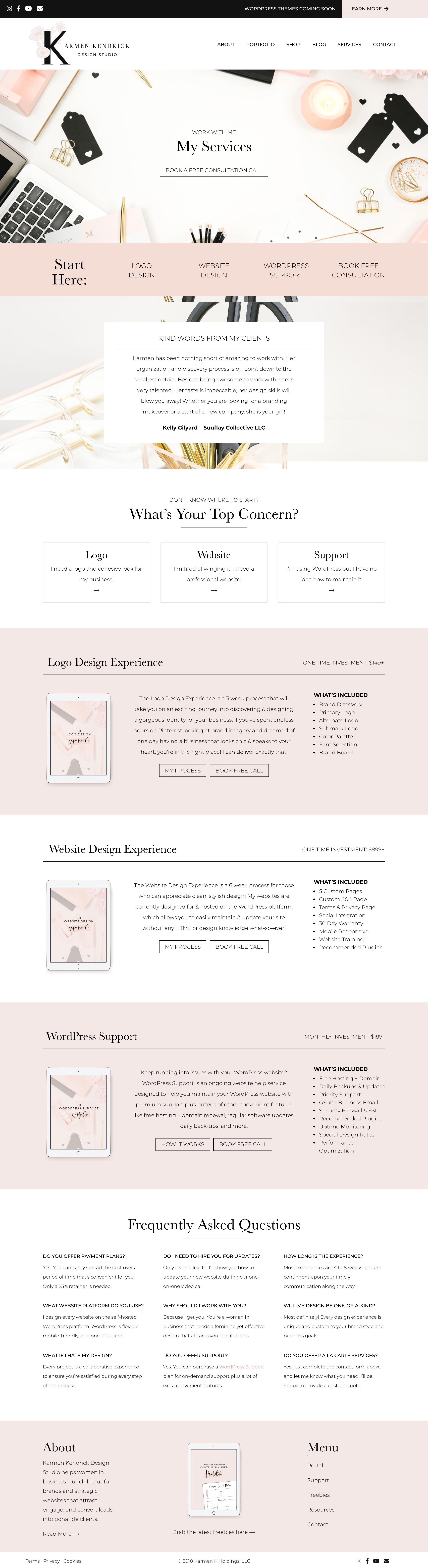 Website Design Strategy Support Web Development Design Web Design Squarespace Web Design