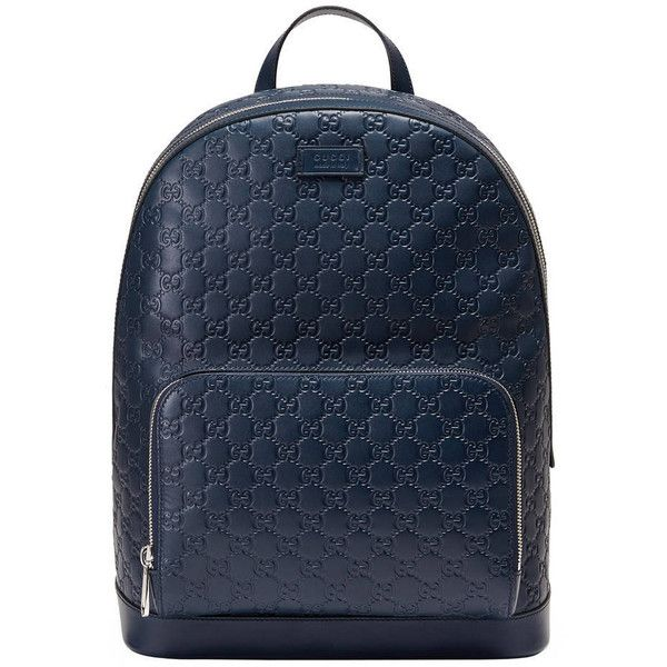 527f09df4891 Gucci Gucci Signature Leather Backpack ( 1