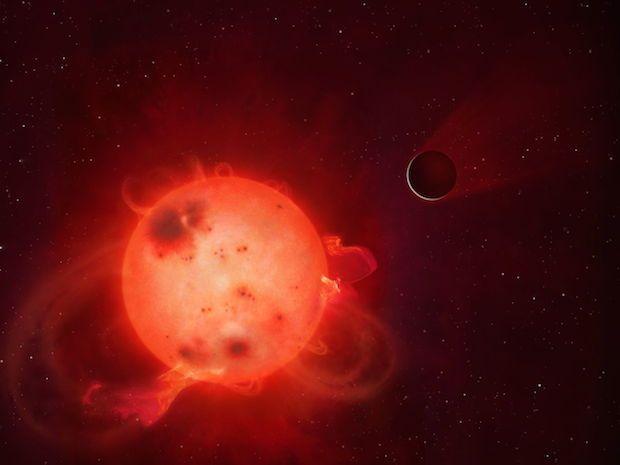 @g1: Planeta parecido com a Terra tem estrela explosiva que pode ter destruído sua atmosfera