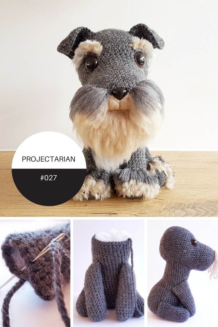 Project 027 amigurumi dog with diy fur free crochet amigurumi check out this amazing free crochet pattern at the projectarian blog today such a cute bankloansurffo Choice Image