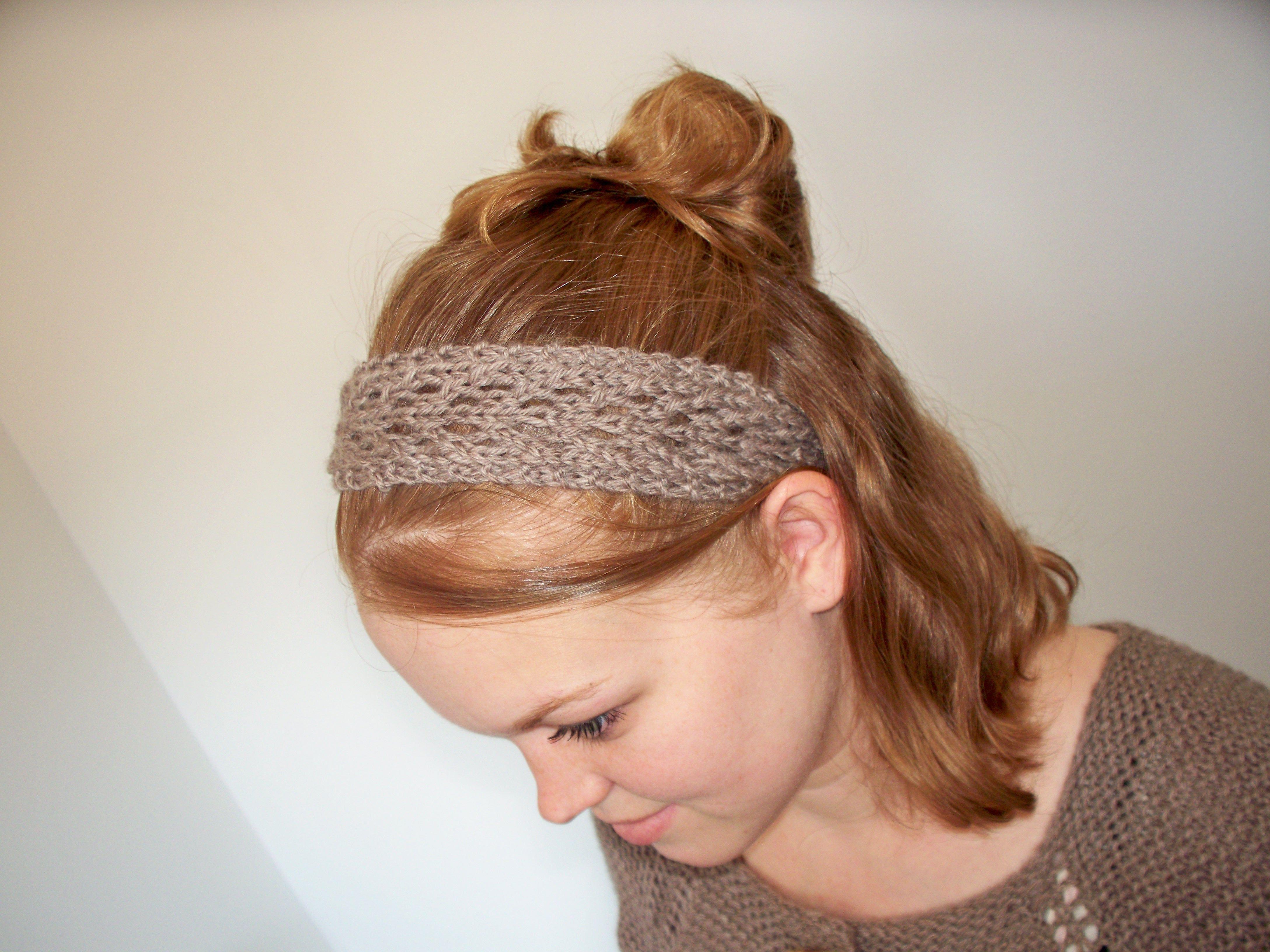 February Lady Lace Headband | Lace headbands, Knitting patterns and ...
