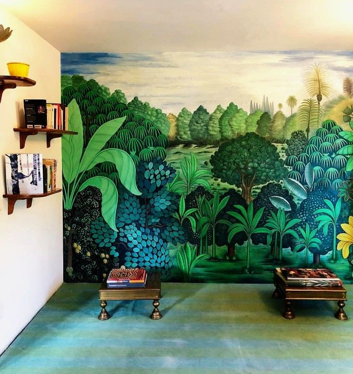 Pin By Pritz R On Spaces Mural Art Wall Murals