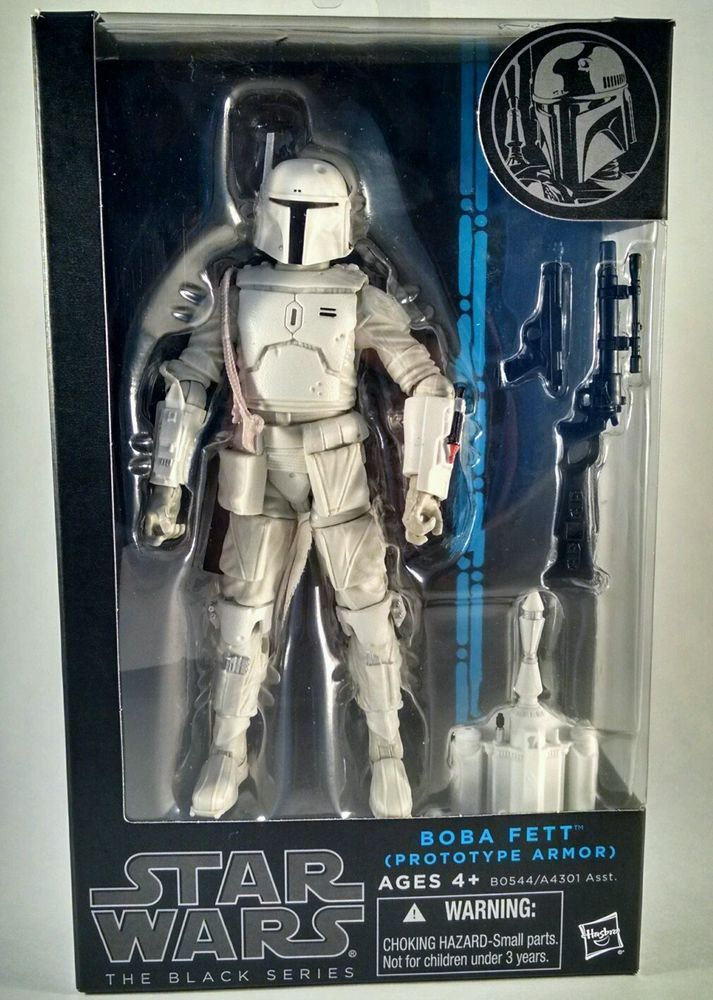 "Boba Fett Prototype Armor STAR WARS Black Series 6/"" Scale Walgreens Exclusive"
