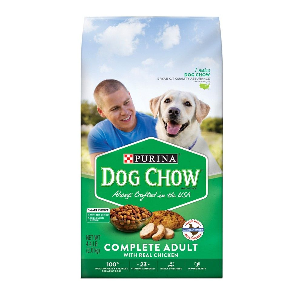 Dish Up Daily Servings Of Purina Dog Chow Complete Adult With Real