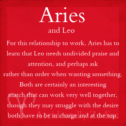 Are leo and aries compatible