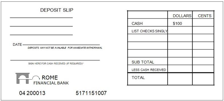 Bank Deposit Slip Template Deposit Payroll Template Bank Deposit