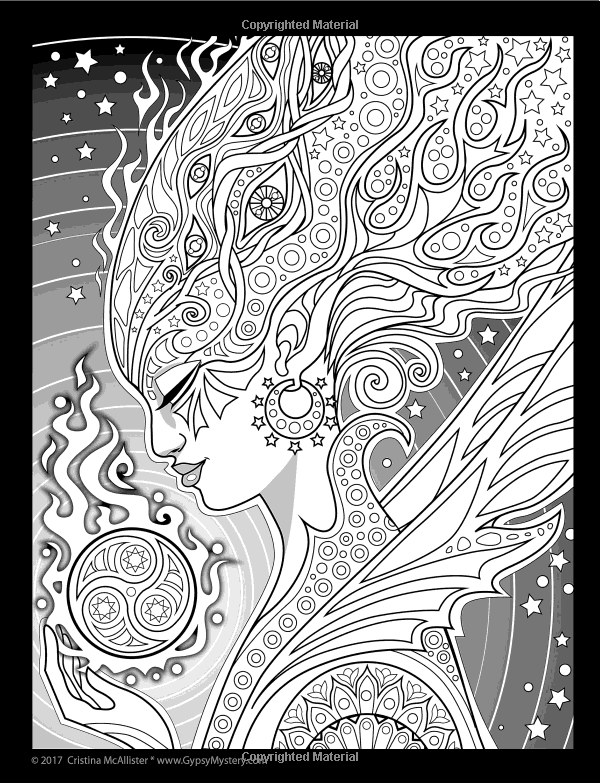 Lost Lumina Coloring Book A Sequel To The Chronicles Volume 2