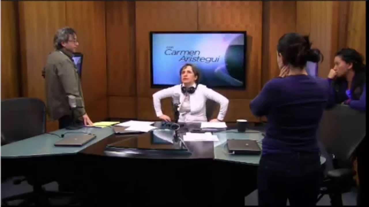 Carmen Aristegui 13 Marzo 2015